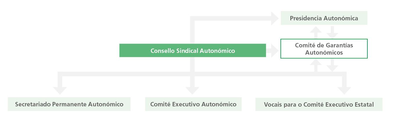 Estrutura autonómica ANPE