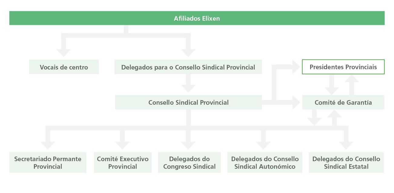 Estrutura provincial ANPE